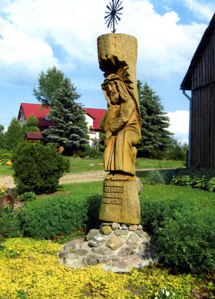 Pristavonių kaimo kryžius
