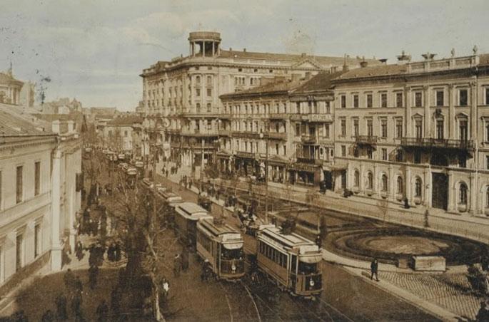 Varšuva XX a. pradžioje