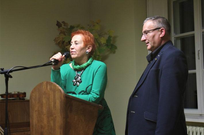 Aldona Ruseckaitė ir Sigitas Birgelis