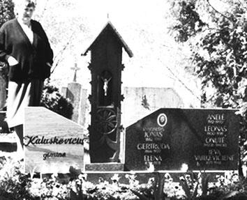 J. Kaluškevičiaus kapas