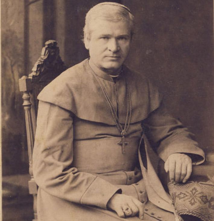 Seinų vyskupas A. Baranauskas